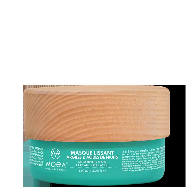 MASQUE LISSANT - ARGILES & ACIDES DE FRUITS - 150 ml
