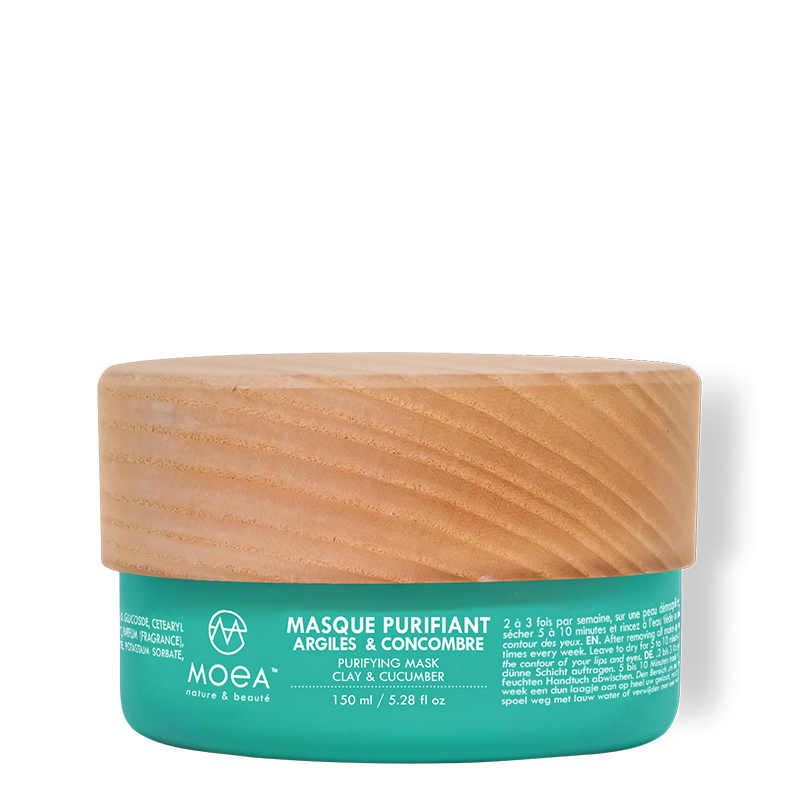 MASQUE PURIFIANT - ARGILES & CONCOMBRE - 150 ml