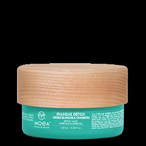 MASQUE DÉTOX - ARGILE BLANCHE & CHARBON - 150 ml